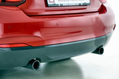 BMW M235i CABRIO AUTOMAAT + GPS + LEDER + XENON + ALU 18