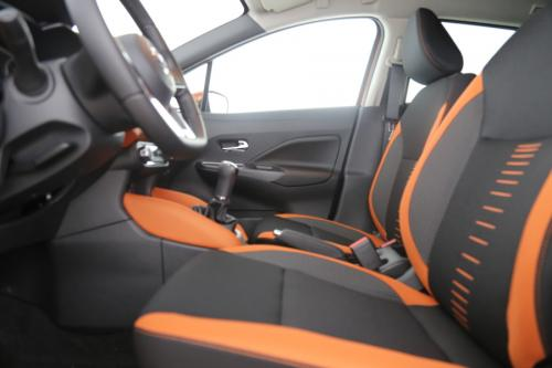 NISSAN NEW MICRA 1.5 DCI TEKNA + AVM+MOD+BSW,+ Heated Front Seats,+ INT.PACK Orange