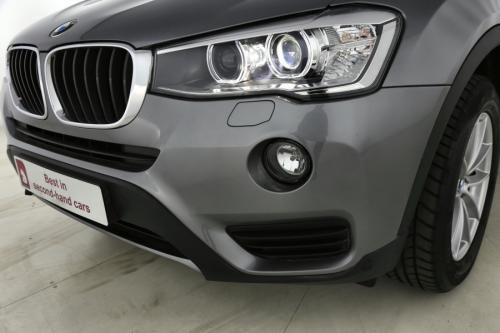 BMW X3  xDrive20d AUTOMAAT + GPS + LEDER + XENON + CRUISE + ALU 17