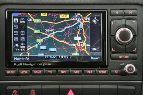 AUDI A3 SPORTBACK  1.6 TDI + GPS + LEDER + AIRCO + CRUISE + PDC + ALU