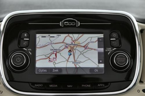 FIAT 500C 1.2 BENZINE +  GPS + PDC + ALU + AIRCO
