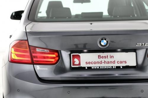 BMW 316 D  + GPS + LEDER + AIRCO + CRUISE  + PDC + TREKHAAK