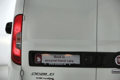 FIAT Doblo 1.6 JTD 3 PLAATSEN + AIRCO + GPS +  EXCL. BTW