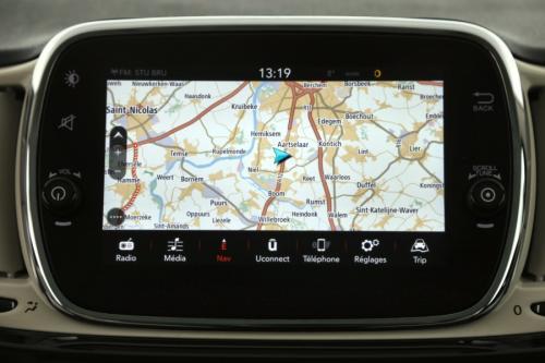 FIAT 500 1.2 BENZINE + GPS + AIRCO + CRUISE + PDC + 19.189 km