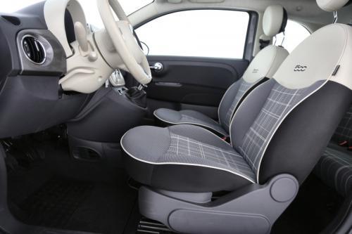 FIAT 500 1.2 BENZINE + GPS + AIRCO + CRUISE + PDC + 14.044 KM