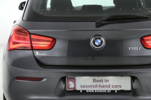 BMW 116 I M-SPORTSTUUR  + GPS + AIRCO + CRUISE + PDC + ALU 16