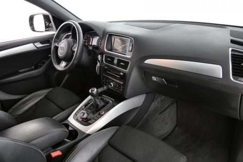 AUDI Q5 2.0 TDI S-LINE + GPS + AIRCO + CRUISE + PDC + TREKHAAK + ALU 19