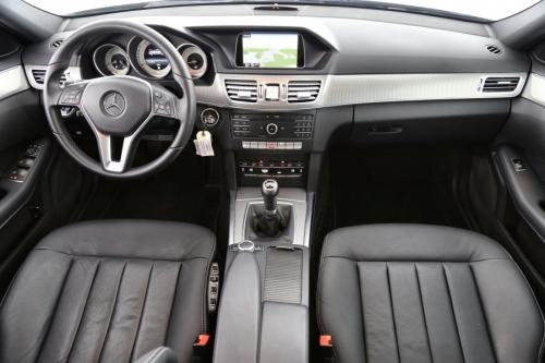 MERCEDES-BENZ E 200 BREAK AVANTGARDE BlueTEC + GPS + LEDER