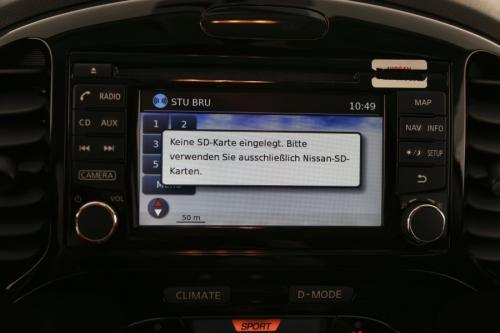 NISSAN Juke 1.6 I X-TRONIC + GPS + AIRCO + CAMERA + ALU 17