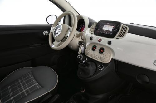 FIAT 500 LOUNGE 1.2 + NAVI + CRUISE + PANO DAK + ALU 16