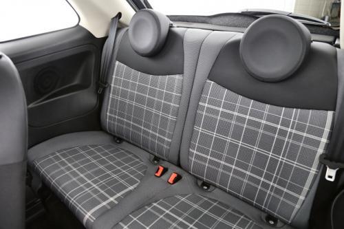 FIAT 500 LOUNGE 1.2 + GPS + CRUISE + PANO DAK + ALU 16 + PDC