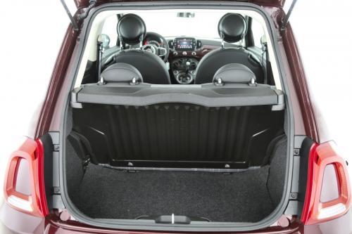 FIAT 500 1.2i LOUNGE  + A/T + AIRCO + CRUISE + PDC + PANO DAK