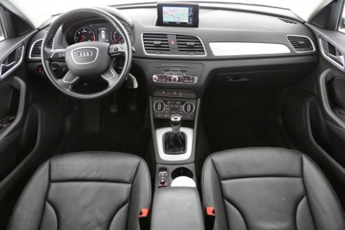 AUDI Q3 2.0 TDI + GPS + LEDER + AIRCO + CRUISE + PDC  + ALU 17