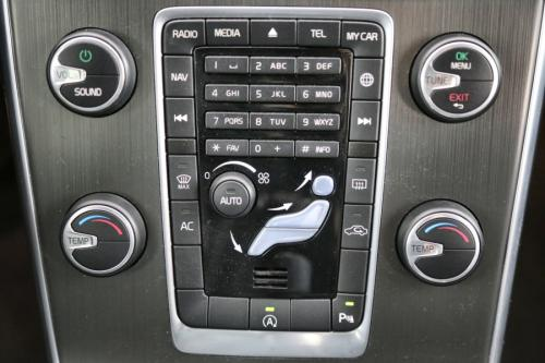 VOLVO V60 2.0D3 SUMMUM + GPS + LEDER + AIRCO + CRUISE + PDC + ALU 17 + TREKHAAK