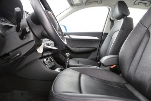 AUDI Q3 2.0 TDI + GPS + LEDER + AIRCO + CRUISE + PDC + ALU 17 + TREKHAAK + XENON