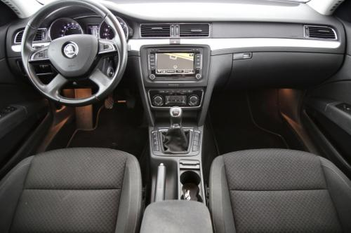 SKODA Superb Combi Greenline Ambition 1.6 CRTDI + GPS + AIRCO + CRUISE + PDC + ALU 16 + TREKHAAK + XENON