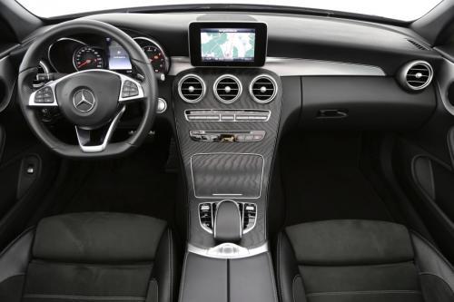 MERCEDES-BENZ C 180 AMG-SportKit Cabrio dA 9G-Tronic + GPS + AIRCO + CRUISE + PDC + ALU 18