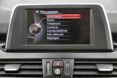 BMW 216 Gran Tourer d + GPS + LEDER + AIRCO + PDC + ALU 16