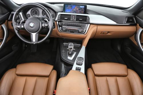 BMW 420 Cabrio Sport Luxury Line dA + GPS + LEDER + AIRCO + CRUISE + PDC + CAMERA + ALU 19 + XENON