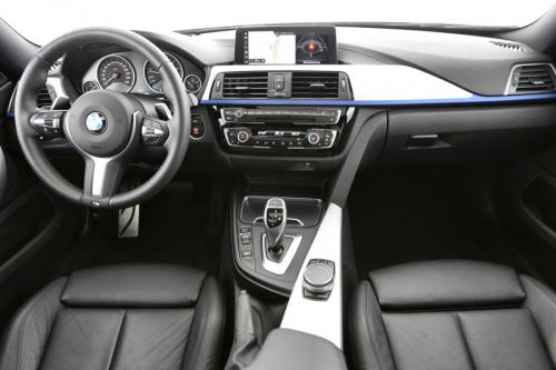 BMW 420 420 I GRAND COUPE M-SPORT + GPS + LEDER + CAMERA + PANO DAK + PDC + ALU 18