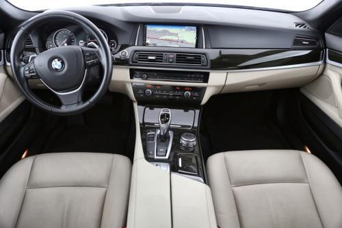 BMW 525 Luxury Line dA + GPS + LEDER + AIRCO + CRUISE + PDC + ALU 18 + XENON