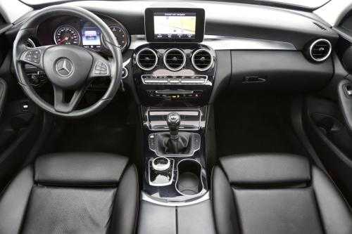 MERCEDES-BENZ C 180 Break Avantgared d + GPS + LEDER + AIRCO + CRUISE + PDC + PANO DAK + ALU 17