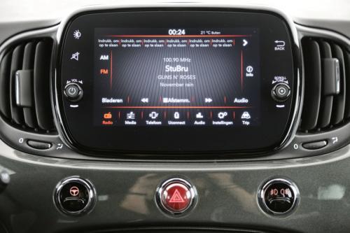 FIAT 500 1.2i Dualogic Sport  Apple Carplay + AIRCO + CRUISE + PDC + ALU