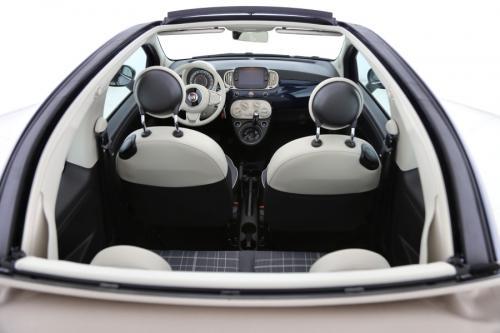 FIAT 500C Cabrio Lounge 1.2i Apple Carplay + A/T + AIRCO + CRUISE + PDC + ALU