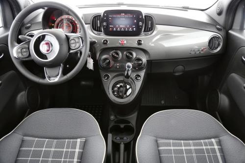 FIAT 500C Cabrio Lounge  1.2i Apple Carplay + A/T + AIRCO + CRUISE + PDC + ALU