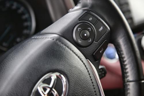 TOYOTA RAV4 2.5i HYBRIDE CVT COMFORT BLACK+ GPS + LEDER + OPEN DAK + CAMERA + PDC