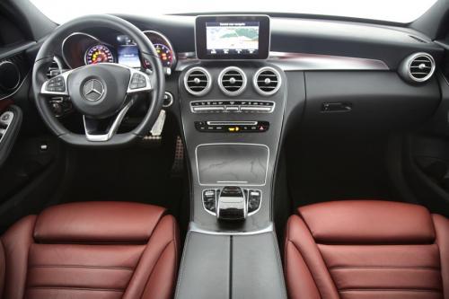 MERCEDES-BENZ C 350 E AVANTGARDE iA HYBRID + GPS + LEDER + CAMERA + PDC + CRUISE + ALU 17