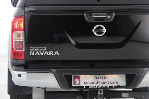 NISSAN NP300 NAVARA 2.3 DCI + AIRCO + GPS + CRUISE + AVM + 4X4 + LEDER