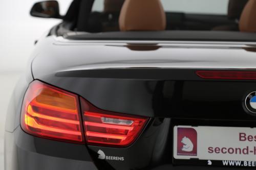 BMW 420  CABRIO AUTOMAAT + GPS + LEDER + XENON